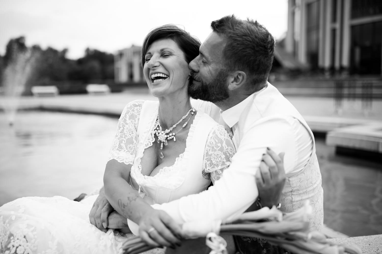 Hochzeitsfotograf Allgäu Ludwigs Festspielhaus Trachtenhochzeit Heiraten in Tracht