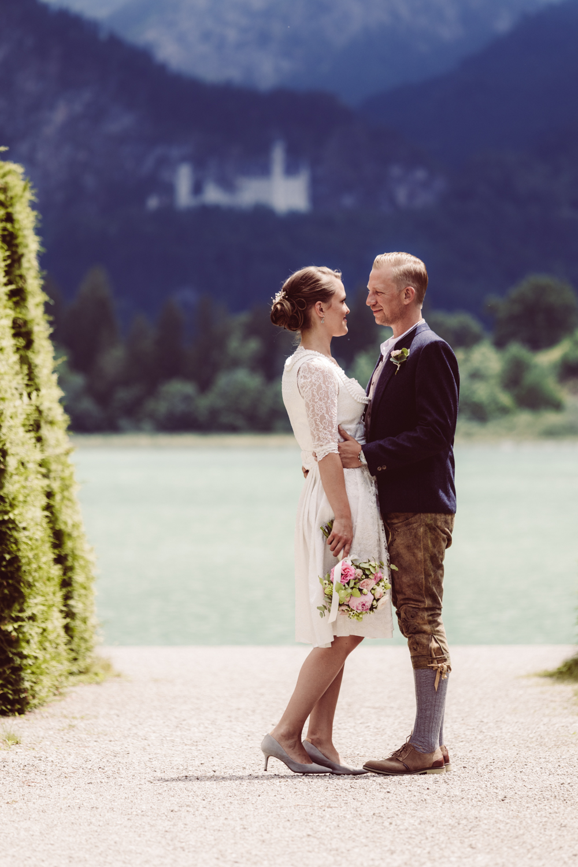 Hochzeitsfotograf Schloss Neuschwanstein