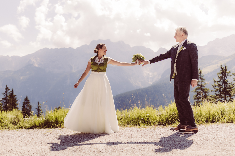 Hochzeitsfotografin Berghochzeit Garmisch-Partenkirchen