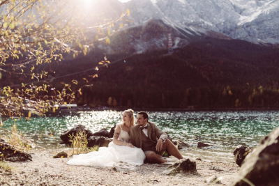 After-Wedding Shooting am Eibsee